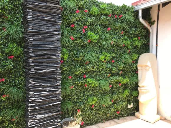 Aplicación de jardín vertical Tropical