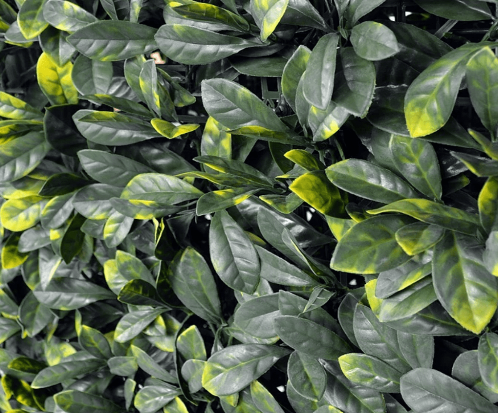 follaje artificial gardenia para jardines verticales