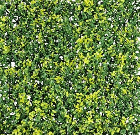 follaje artificial hoja de te para jardines verticales
