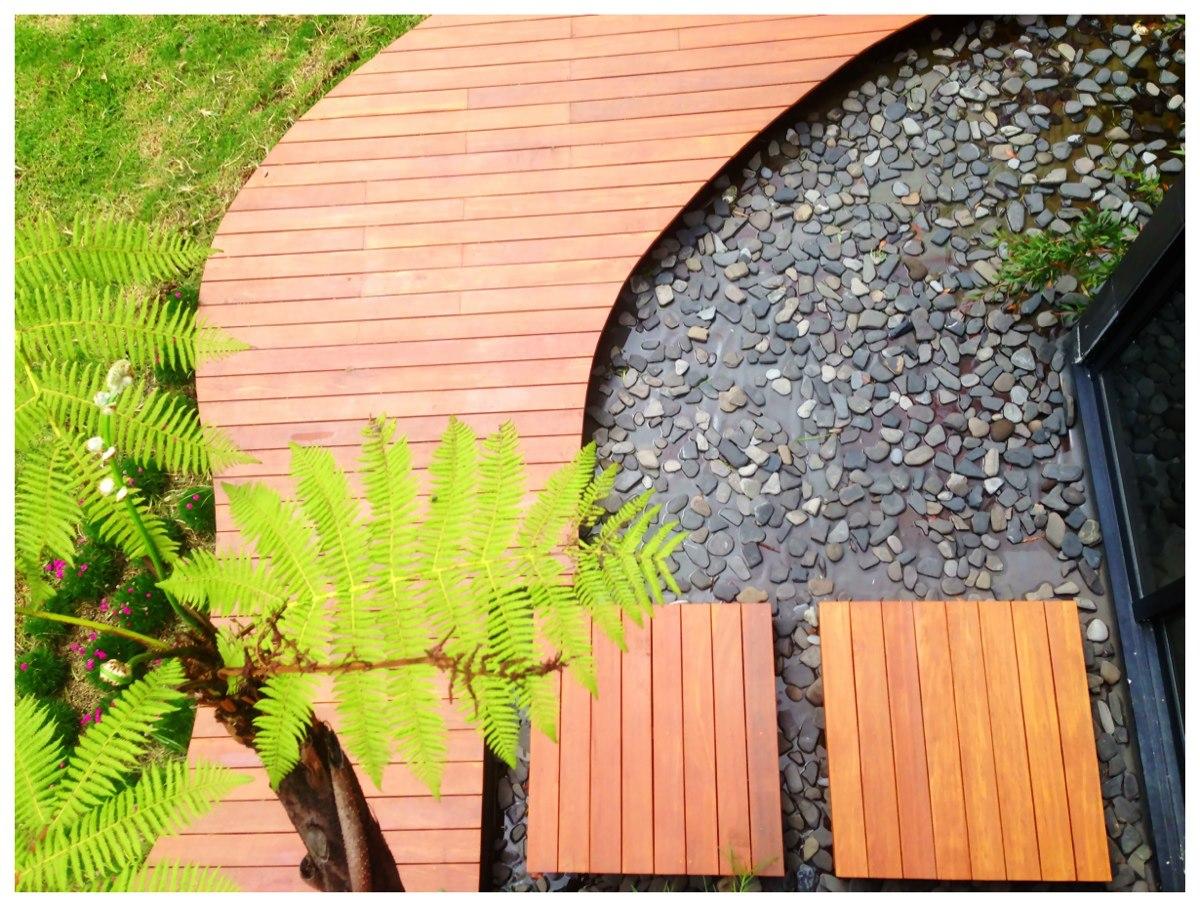Decks en madera natural